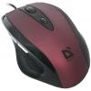Мышка Defender Opera 880 USB, красная, купить за 705руб.
