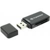 Устройство для чтения карт памяти Transcend TS-RDP5K черный, купить за 685руб.