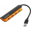 USB концентратор 5bites HB34-307BK, USB 3.0, купить за 870руб.