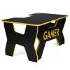 Стол компьютерный Generic Comfort Gamer2/DS/NY черный, желтый, купить за 19 950руб.