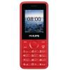 Сотовый телефон Philips E103, красный, купить за 1 790руб.