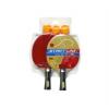 Start Line 2 ракетки Level200 - 3 мяча оранжевый, купить за 809руб.