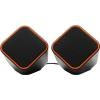 Компьютерная акустика SmartBuy Cute SBA-2590, черно-оранжевые, купить за 430руб.