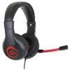 Гарнитура для пк Gembird MHS-G30, черно-красная, купить за 1 060руб.
