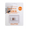 Qumo nanoDrive 32Gb, белая, купить за 830руб.