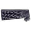 Комплект Клавиатура+мышь Perfeo PF-215-WL/OP USB, черный, купить за 1 010руб.