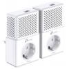 PowerLine-адаптер TP-Link TL-PA7010PKIT, комплект, купить за 3 475руб.