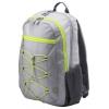 Рюкзак городской HP Active Backpack 15.6, серый/неон, купить за 1 340руб.