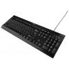 Gembird KB-8335U-BL USB, черная, купить за 760руб.