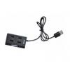 USB концентратор Buro BU-HUB4-U2.0, черный, купить за 365руб.