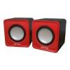Компьютерная акустика Perfeo PF-128-R wave, красная, купить за 320руб.