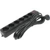 Сетевой фильтр ExeGate (5 м) 6 розеток, черный, купить за 420руб.
