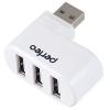 USB концентратор Perfeo PF-VI-H024W, белый, купить за 385руб.