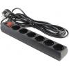 Сетевой фильтр 5bites SP6-B-50 (5 м,6 розеток), черный, купить за 660руб.