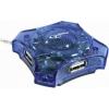 Usb-концентратор Gembird UHB-C224, USB 2.0, купить за 430руб.