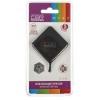 USB концентратор CBR CH-132, черный, купить за 350руб.