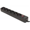 Сетевой фильтр 3Cott 3C-SP1006B-3.0, черный, купить за 360руб.