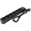 Сетевой фильтр ExeGate SP-600B/SP-6-1.8B, черный, купить за 370руб.