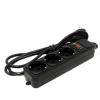 Сетевой фильтр ExeGate SP-3-1.8B, черный, купить за 330руб.