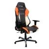 Игровое компьютерное кресло DXRacer Drifting OH/DM61/NWO, черно-бело-оранжевое, купить за 28 990руб.