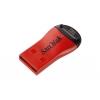 Устройство для чтения карт памяти SanDisk, MicroSD, USB 2.0, красное, купить за 470руб.