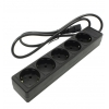 Сетевой фильтр 5bites SP5-B-10U, черный, купить за 340руб.