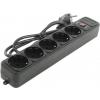 Сетевой фильтр 5bites SP5-B-10 черный, купить за 325руб.