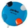 USB концентратор Perfeo PF-VI-H020 (4 порта), синий, купить за 370руб.