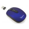 Gembird MUSW-202 Blue USB (беспроводная, радиоканал), купить за 785руб.