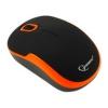 Мышка Gembird MUSW-200 Black-Orange USB, черно-оранжевая, купить за 650руб.