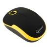 Мышка Gembird MUSW-200BKY, черно-желтая, купить за 620руб.