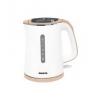 Чайник электрический Marta MT-1065, белый/бежевый, купить за 1 440руб.