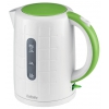 Электрочайник BBK EK1703P, белый/зеленый, купить за 850руб.