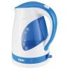 Чайник электрический BBK EK1700P белый/голубой, купить за 900руб.