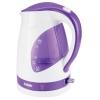 Чайник электрический BBK EK1700P белый/фиолетовый, купить за 900руб.