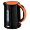 Электрочайник BBK EK1703P, черный/оранжевый, купить за 850руб.
