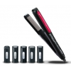 Фен Panasonic EH-HV51-K865, черный/красный, купить за 3 630руб.