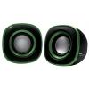 Компьютерная акустика BBK CA-301S, черно-зеленая, купить за 685руб.