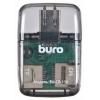 Устройство для чтения карт памяти Buro BU-CR-110, черное, купить за 875руб.
