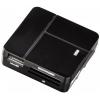 Устройство для чтения карт памяти Hama 94124 черное, купить за 995руб.