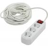 Удлинитель электрический Smartbuy SBE-16-3-15-ZS, белый, купить за 875руб.