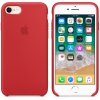 Чехол iphone Apple для iPhone 8/7 Silicone Case MQGP2ZM/A, красный, купить за 2430руб.
