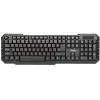 Клавиатура Dialog KM-015U USB, черная, купить за 640руб.