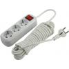 Сетевой фильтр Smartbuy SBE-16-3-07-ZS, белый, купить за 480руб.