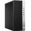 Фирменный компьютер HP EliteDesk 800 G3 (2SF58ES) чёрный, купить за 76 955руб.