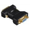 Кабель (шнур) Hama H-45073 (VGA - DVI-I DL), купить за 830руб.