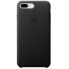 Чехол для смартфона Apple Leather Case для iPhone 8 Plus / 7 Plus, черный, купить за 3575руб.