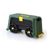 Helex, Ящик-подставка на колесах 4 в 1, зеленый/черный, купить за 2 195руб.