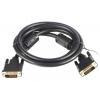 VCom VDV6300-1.8M (DVI-D DL, M/M, 1.8 м), чёрный, купить за 650руб.
