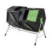 Компостер садовый Helex H821, черный/зеленый, купить за 7 425руб.